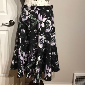 Dresses & Skirts - Floral Fit Flare Circle Hem Casual Party Paneled 8